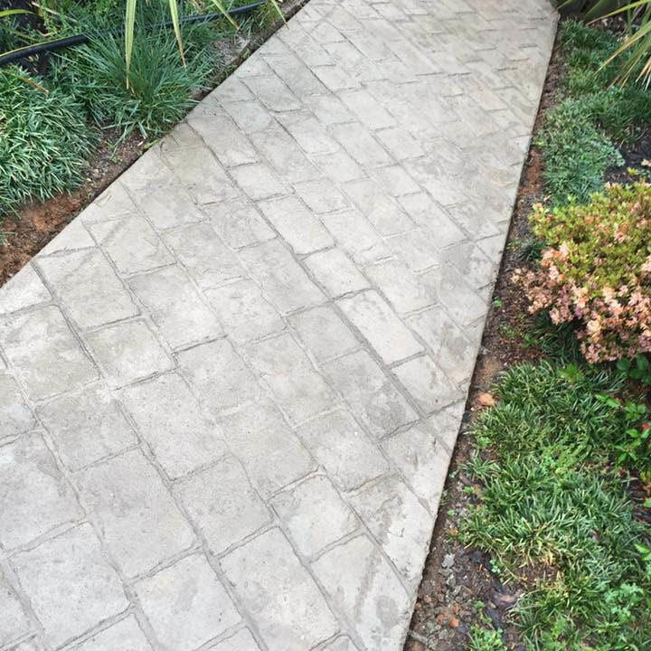 concrete path website image